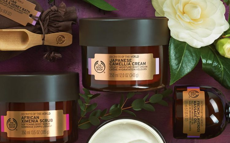 HAPPY NEW YEAR with The Body Shop
