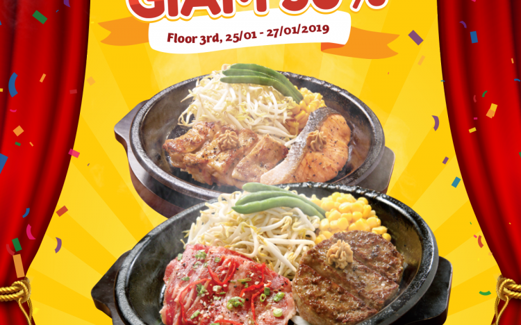 Pepper Lunch is available at AEON Mall Long Bien – Discount_50%