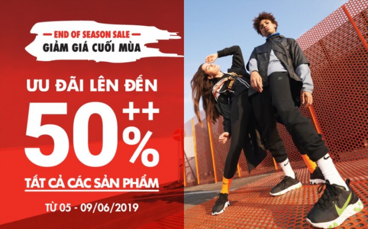 NIKE – SPECIAL OFFER UPTO 50% ++