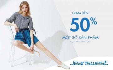 jeanswest giảm giá 50%