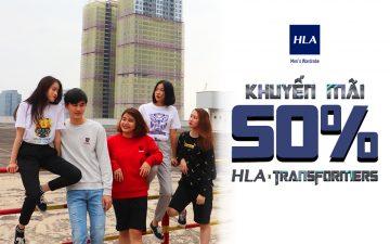 HLA AEON MALL Long Biên khuyến mãi 50%