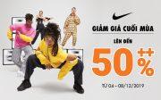 Nike AEON MALL Long Biên khuyến mãi