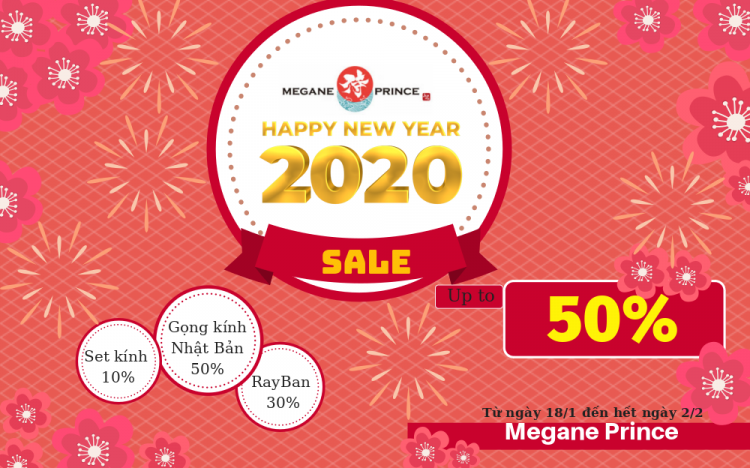 SALE UP T0 50% – HAPPY LUNAR NEW YEAR 2020