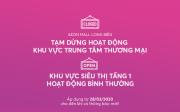 Tạm dừng hoạt động TTTM AEON MALL Long Biên