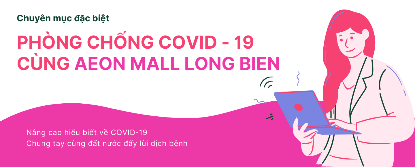Prevent COVID-19 with AEON MALL Long Bien
