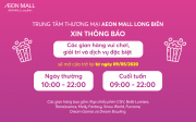 AEON MALL Long Biên mở cửa trở lại rạp chiếu phim, gym, spa