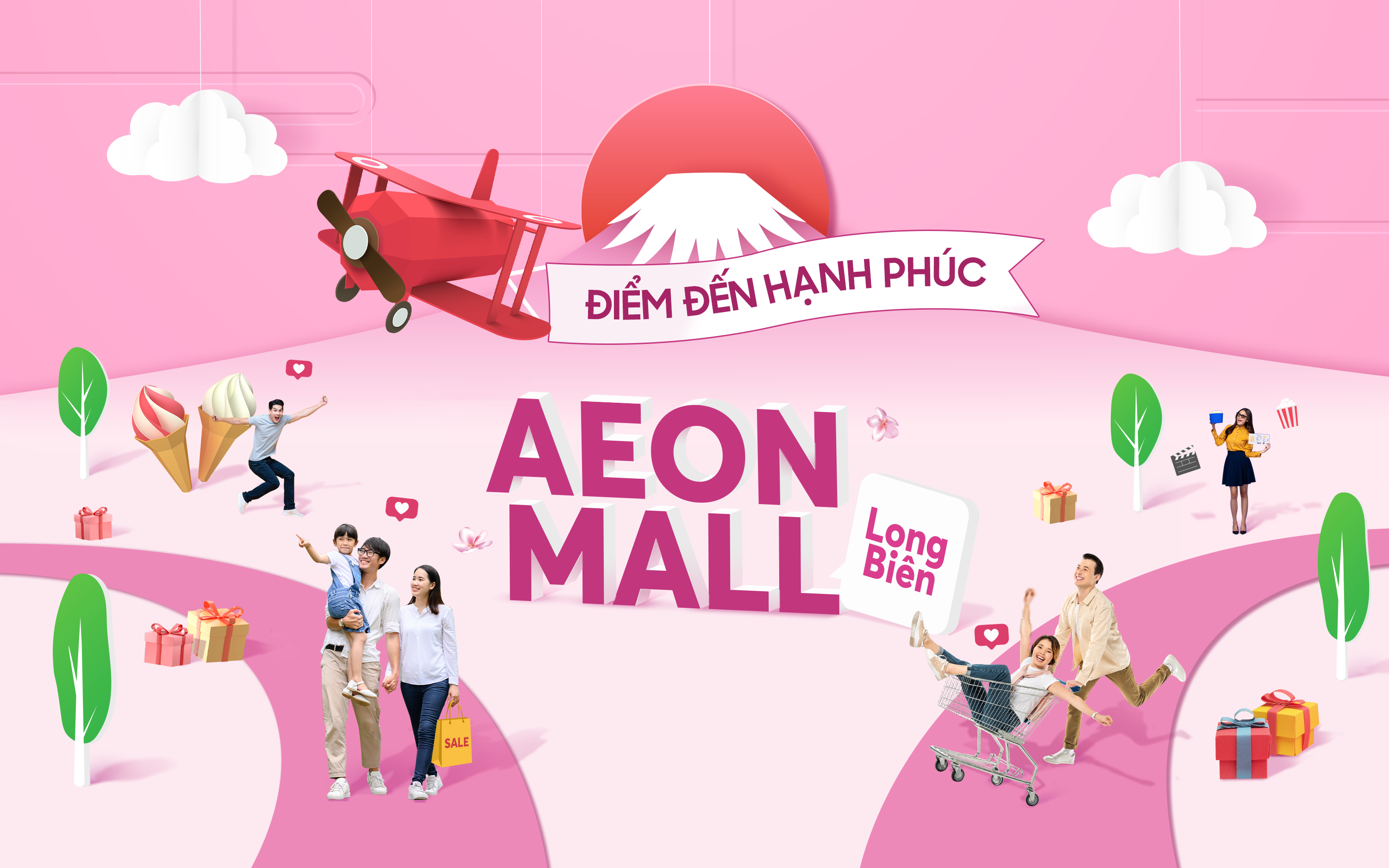 AEON MALL Long Bien - The Happy Mall