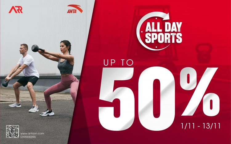 ALL DAY SPORTS: #Sale_up_to_50%