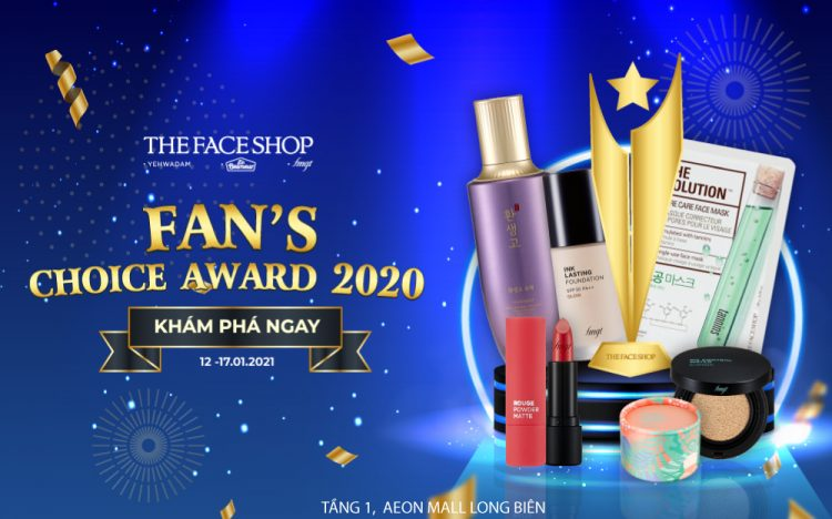 [THEFACESHOP] FAN'S CHOICE AWARD 2020