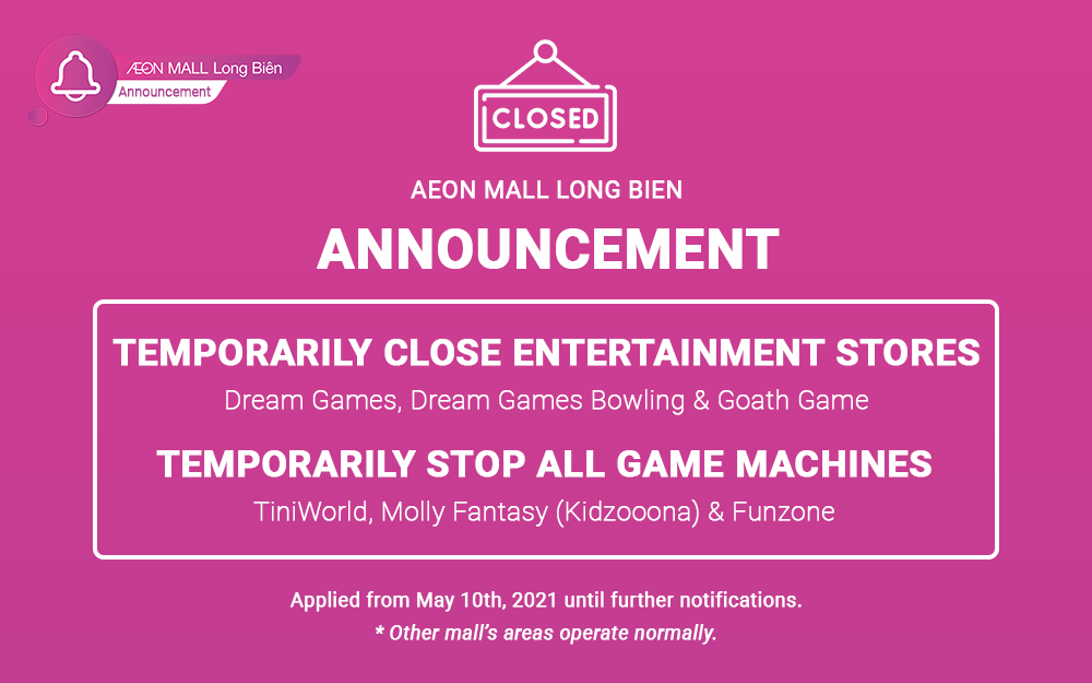 TEMPORARILY CLOSE SOME ENTERTAINMENT BUSSINESSES