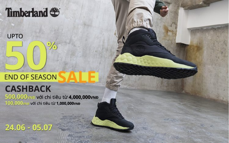TIMBERLAND | END OF SEASON SALE UP TO 50%