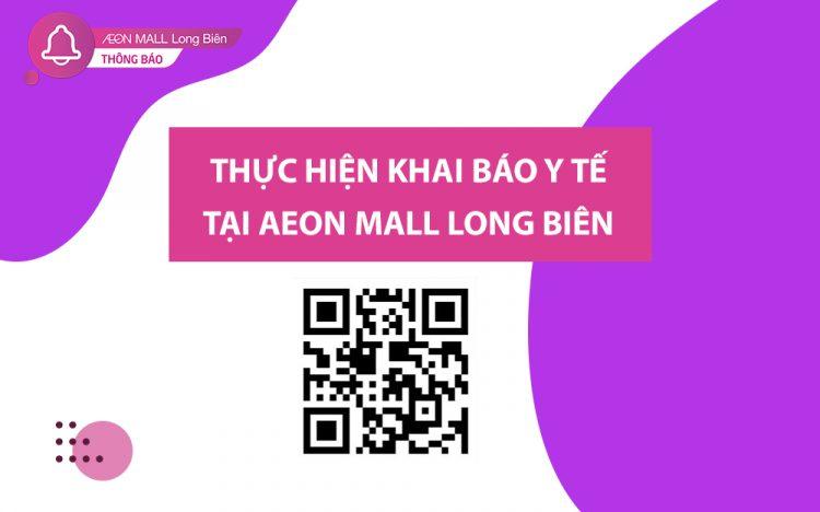 HEALTH DECLARATION AT AEON MALL LONG BIEN