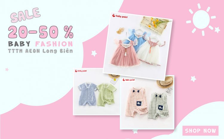 BABYPOINT |  END OF SEASON SALE UP TO 50%